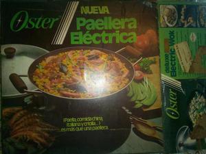 Paellera o wok eléctrico marca Oster remate