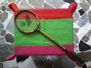 Raqueta De Madera =multiuso = Squash= Badminton=importada=