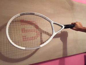 Raqueta De Tennis Oversize Wilson + Forro