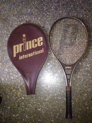 Raqueta De Tennis Prince Internacional. + Forro. 4 3/8. Usa