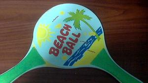 Raquetas De Playa Beach Ball ¡¡oferta!!