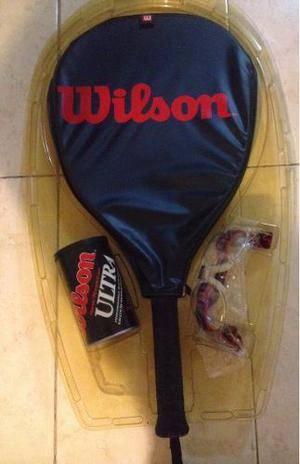 Raquetas De Racquetball Wilson (combo Con Lentes Y Pelotas)