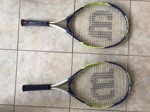 Raquetas De Tenis Wilson Usadas N25 Buen Estado
