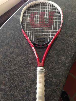 Vendo Raquetas De Tennis Wilson Con Poco Uso
