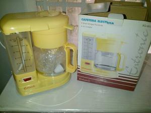 Cafetera Eléctrica 12 Tazas Marca Entronic
