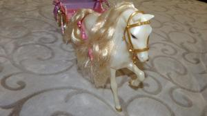Carruaje De Colección De La Barbie Con Su Caballo