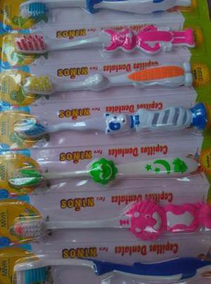 Cepillos Dentales Para Niños Toothbrush Kids Miya