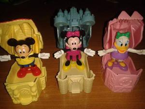 Colección Mickey Y Amigos En Los Castillos