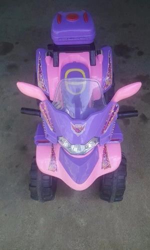 Moto De 4 Ruedas Para Niña, Vendo O Cambio.