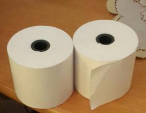 Rollos De Papel Bond Blanco Para Sumadoras