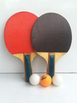Set De Raquetas De Ping Pong Con Pelotas