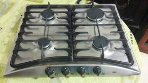 Tope de cocina acero inoxidable teka valencia posot class - Cocinas teka gas natural ...