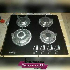 Tope De Cocina A Gas Vitrocerámica 60 Cm Premium