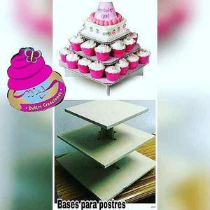 Base Para Cupcakes Torre Para Dulces Candy Bar