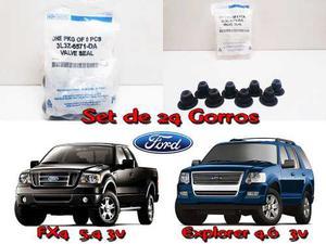 Gomas Sellos De Valvula Gorro Ford Fx4 Y Explorer 4.6 3v
