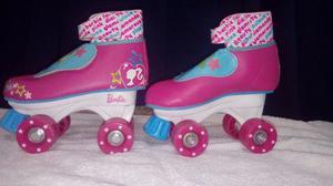Patines Barbie