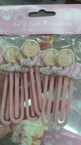 Recuerdo De Baby Shower Y Nacimiento Clips/marcalibros D