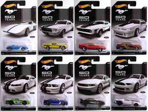 Carros Hotwheel De Colección Ford Mustang
