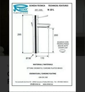 Griferia para lavamanos monomando basics acero posot class for Griferia para lavamanos
