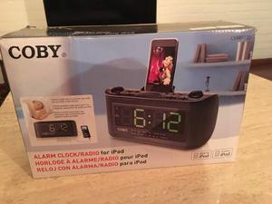 Reloj Despertador Cargador De Iphone/ipod 4/4s