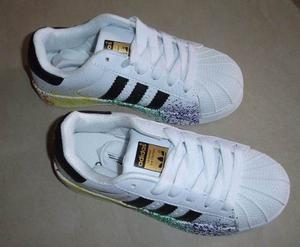 Zapatos Adidas Superstar Pride Packs Colors Para Niños