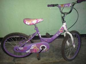 Bicicleta Para Niña Barbie Rin 20