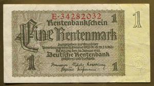 Billete Alemania Tercer Reich marco , F. GGGS ALE
