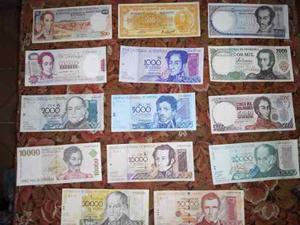 Colección De Billetes Venezolanos En Perfectas Condiciones