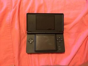 Combo Consola Nintendo Ds Lite Negro Con Juegos Y Cargador