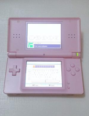 Combo Nintendo Ds Lite Rosado+6 Juegos+extras