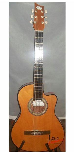Guitarra Acústica Modelo Media Luna