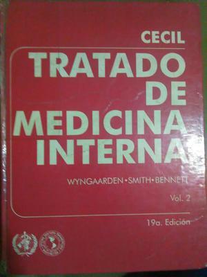 Libro Medicina Interna Cecil Ed. 19