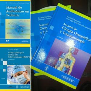 Libros de Medicina. Ortopedia. Traumatologia. Pediatria.