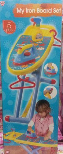 Mesa De Planchar De |juguetes Para Niñas Con Accesorios
