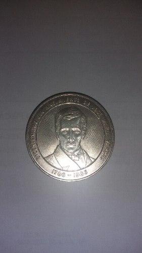 Moneda De Plata Bicentenario Jose Maria Vargas