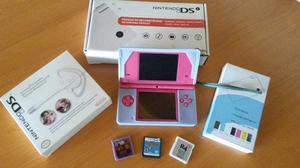 Nintendo Dsi Color Fucsia Original Con Sus Accesorios