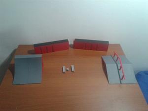 Parque Depatinetas Tech Deck Original. Muy Poco Uso