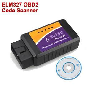 Scanner Automotriz Elm 327, Bluetooth, Versión 2.1 Obd2