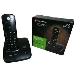 Telefono Inalambrico Motorola Modelo Fox500 Negro