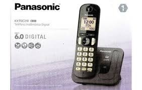 Telefono Panasonic Inalambrico +dect 6.0 + Localizador + New