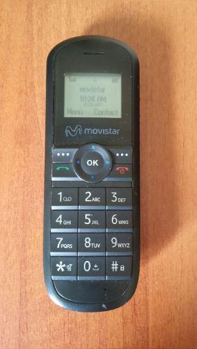 Teléfono Movistar Fijo Inalambrico Linea  Chip Movistar