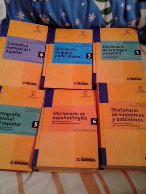 vendo diccionarios varios