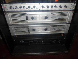 vendo o cambio dos power QSC  y american audio  de