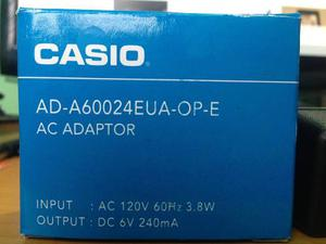 Adaptador De Corriente Casio Ad-av Original