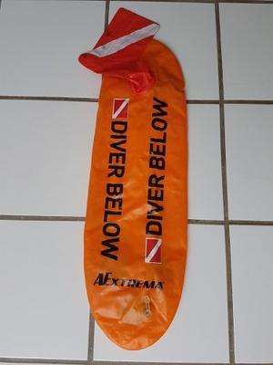 Boya Inflable Color Naranja Para Pesca (usada)