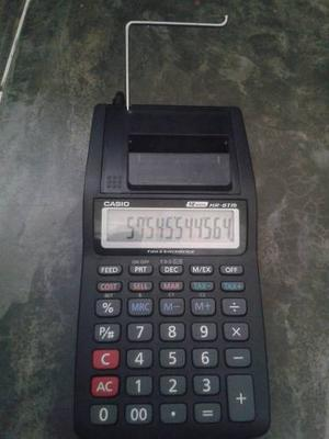 Calculadora Sumadora Casio Hr-8tm 12 Digitos