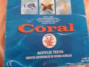 Dientes Acrilicos Coral