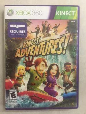 Juego Para Xbox 360, Usado Kinect Adventures, Original