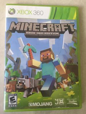 Juego Para Xbox 360 Usado, Minecraft Original