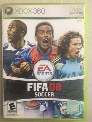 Juego Para Xbox 360 Usado, Original Fifa 08